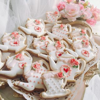 Tea Party Candy Cookies