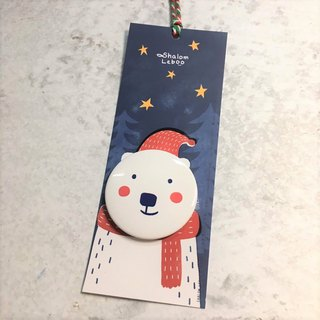 Christmas magnet bookmark