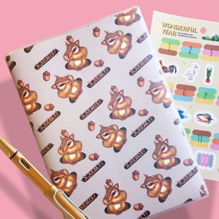 Squirrel Squeaky Planner