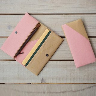 Wallet - Camel Vs. Pink - Multiple combinations - Gift