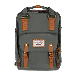 Doughnut Waterproof Macarons Backpack - Twilight Grey