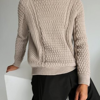 Port Sweater - all hand-made knitted sweaters need to make a month to make other colors