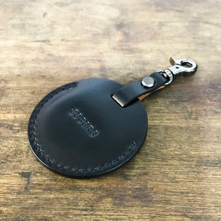 Italian vegetable tanned leather hand sewn gogoro key set