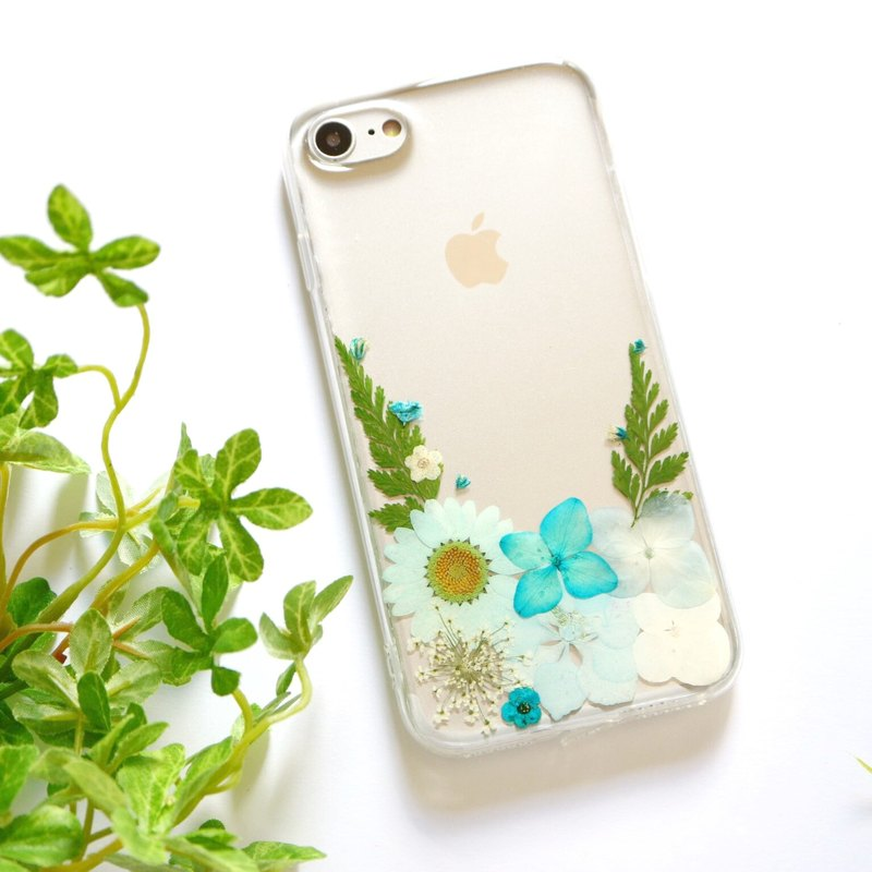 Handmade Real flower phone case - for iphone 5/5s/SE/6/6s/6 plus/6s plus/7/7plus/Samsung S4/S5/S6/S6Edge/S7/S7Edge/Note3/Note4/Note5