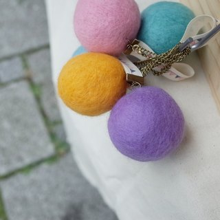 【Q-cute】 colorful QQ ball / strap