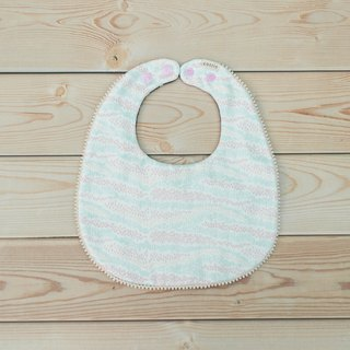 Flower Sea lace round pocket bibs saliva towel eight layers of yarn