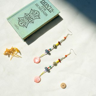 Sunbeam Orchestra Stone Earrings * One of a Kind