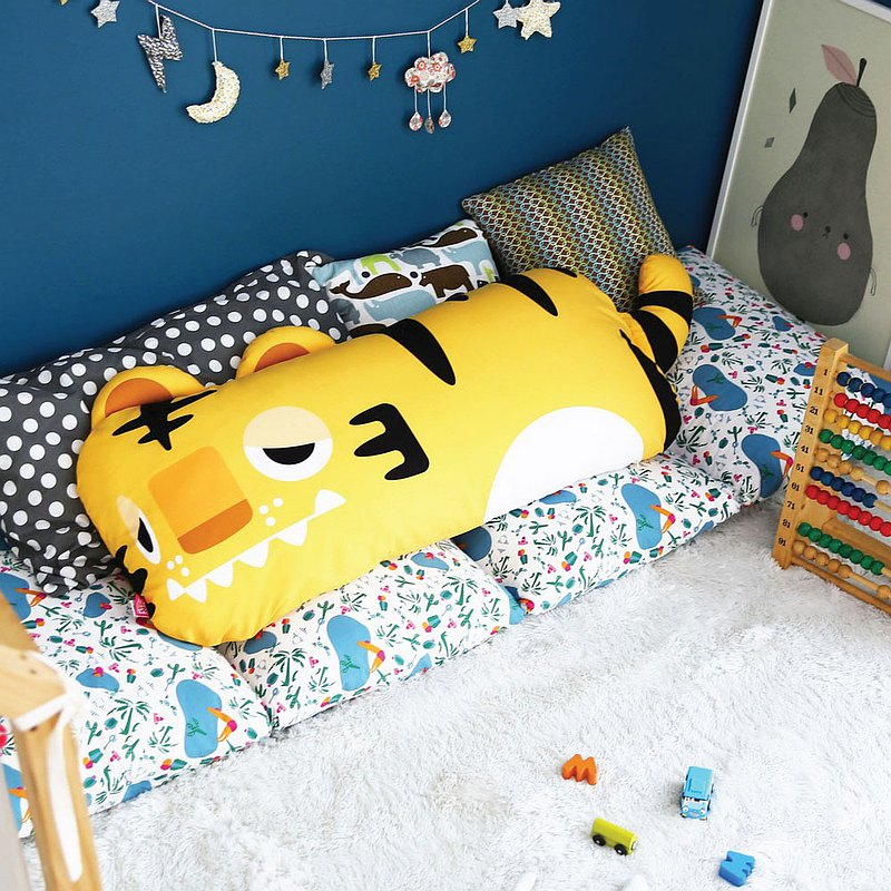 Korea【Monster Park】Little Monster Double Pillow (Mengmenghu)