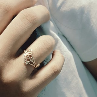 Geometric Bird ring