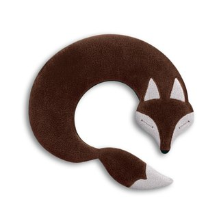 Soothing shoulder and neck heat / cold pack - fox shape (brown)