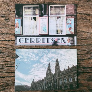 Amsterdam photography postcards two sets