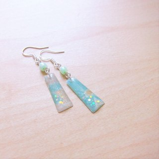 2 color random hair Great atmosphere // II // 2nd use Accessories / Accessories Cloth / fabric earrings