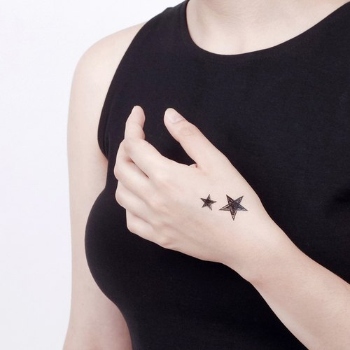 Surprise Tattoos / Little Doodle Stars love tattoos tattoo stickers