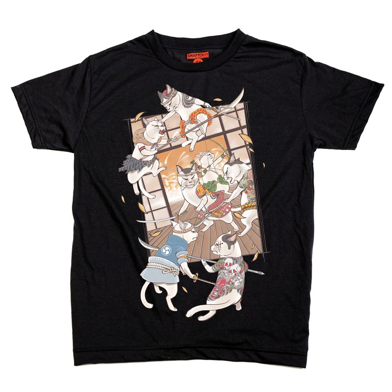 Cat Attack Chapter One T-shirt