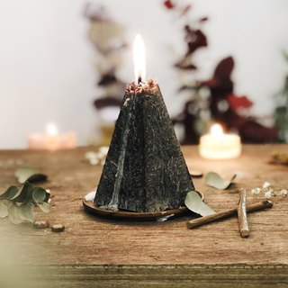 Fragrance Candle/ Handmade Christmas Gift (Black volcano)
