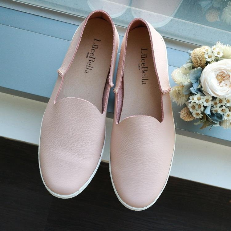 【concise gril】casual Slip-on trainers _ Pink