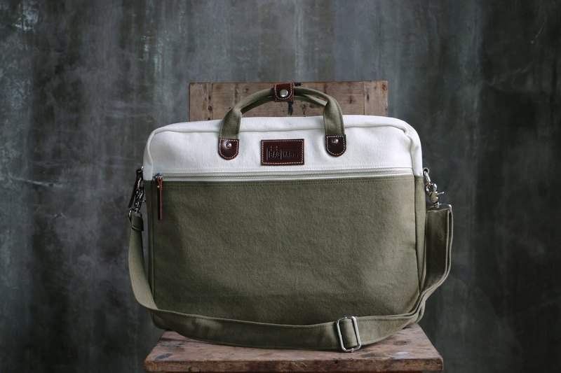 BAG UP : LAPTOP : MATCHA (13-Inch/ 16-Inch)