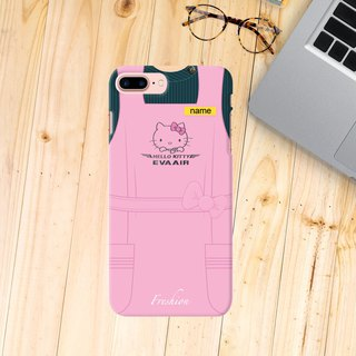 Personalised EVA AIR Air Hostess / Fight Attendant apron iPhone Samsung Case
