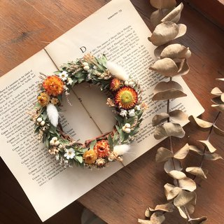 Mini Wreath / Wedding Small Things / Dry Flowers / Dry Wreath / Valentine's Day Gift / Christmas Wreath