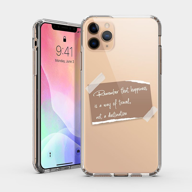 Customized English Golden Sentence [Best Choice for Valentine's Day and New Year] IPHONE Protective Case Text Phone Case IP227