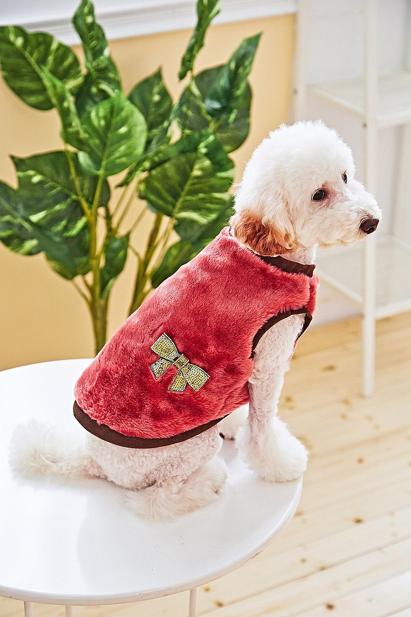 【Mao Duke】Pet clothes imitation fur vest