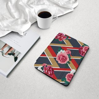 Fashion Flower ipad case for iPad mini1,2,3,4 / Air2,6 / Pro10.5