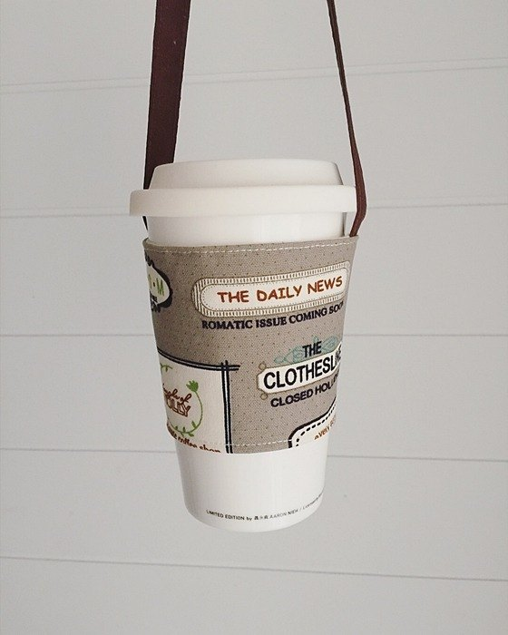 hairmo coffee label environmental coffee cup set / beverage cup bag-coffee