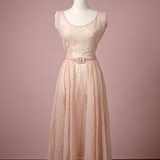 Ancient 1940s dinner dress