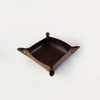 Alfred Valet Tray in Coffee, Small