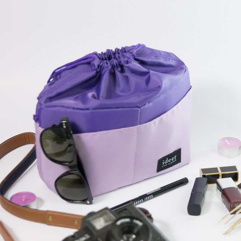 CASEY LAVENDER lavender purple colorful candy-colored micro-SLR camera bag