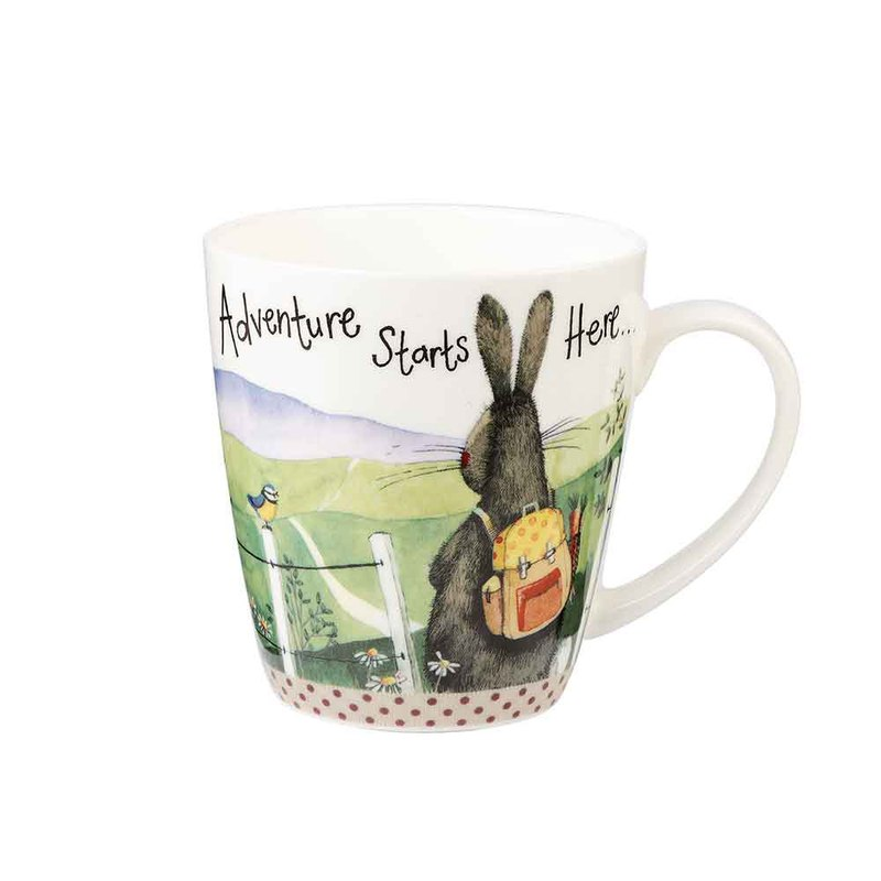 Adventure Starts Here Sparkle Mug