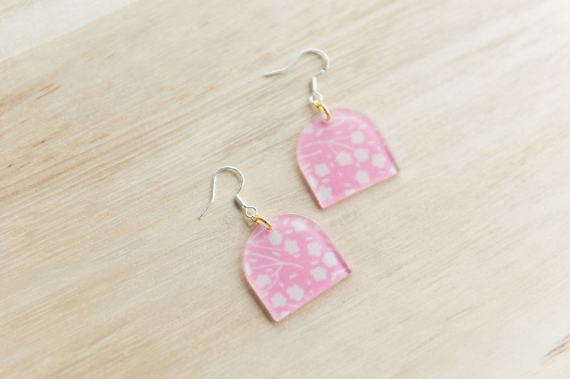 fabric earring