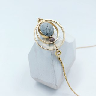 Brass Cement Short Chain Agaric Garden x C3CraftStudio Moon Tour
