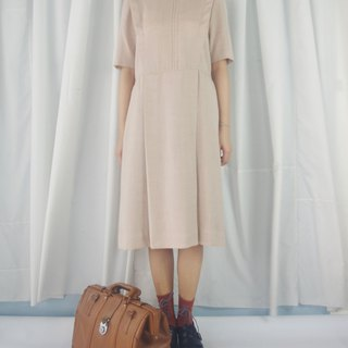 Treasure Hunting - Temperament Camel Slim and Elegant Vintage Dress