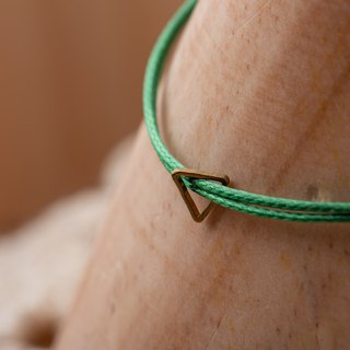 Charlene💕 traction bracelet 💕 - jewelry size S, M, this page S + forest green thin line, number SYM18