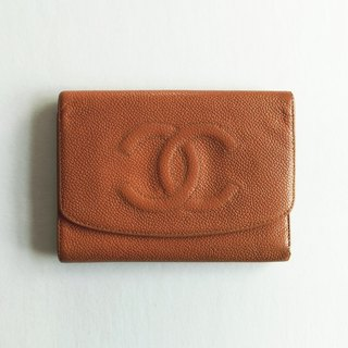 A ROOM MODEL - VINTAGE, BD-0514 CHANEL orange triple short clip