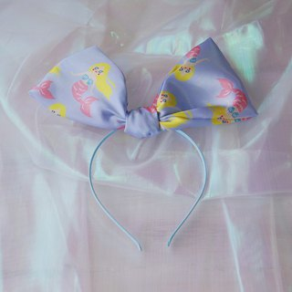 Original hand made mermaid Ji bow headband