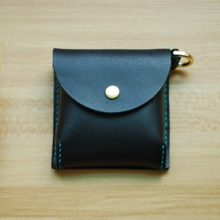Change small bag leather hand sewing (black)