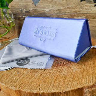 Glasses Box│Portable Triangular Box│Blue│2is BT01B