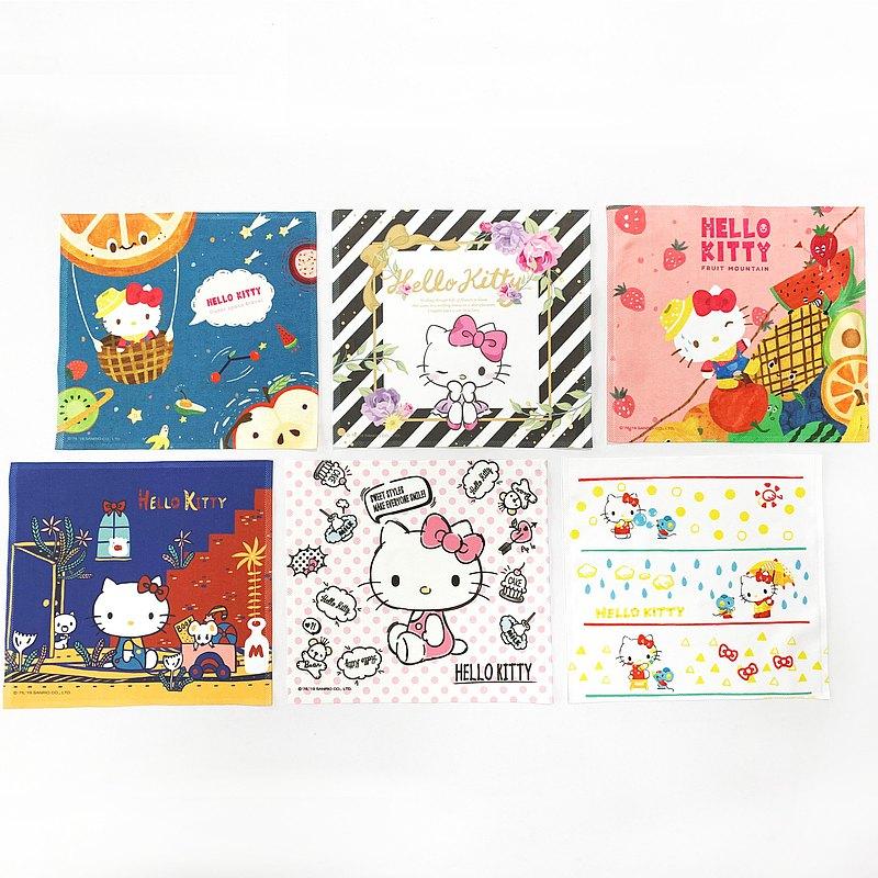 Hello Kitty 經典萬用布 6款 =布漾出品= 三麗鷗官方授權