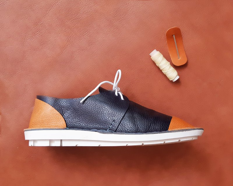 Loper x Hong Kong-made Derby Leather DIY Shoes Kit