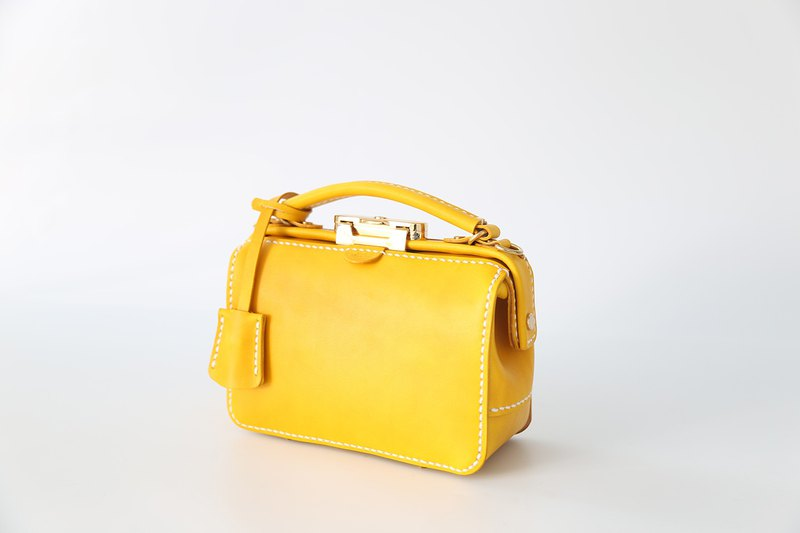[Customer's Edition] Dulles handmade gold bag ladies doctor bag