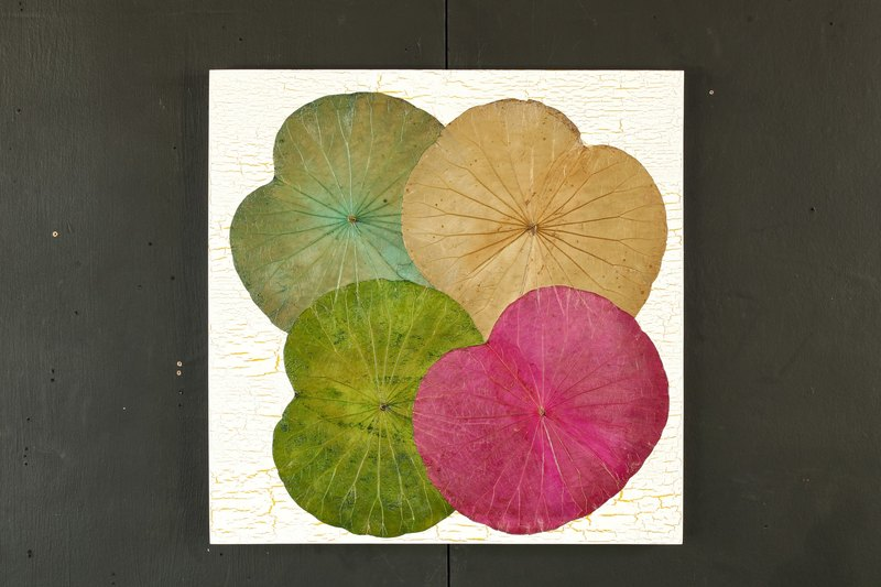 Lotus Leaves Wall Art
