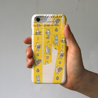 iPhone Case Masking Tape (Yellow)