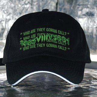 HWPD WATGC Reflective Ball Cap slogan reflective old hat - black
