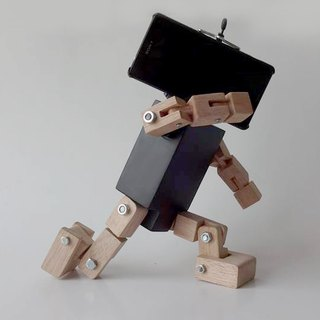 Smartphone robot Black  ( No Base )