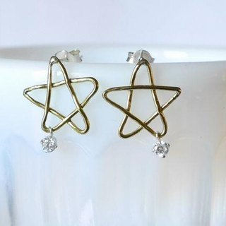 ★ resale ★ Star Pierce (brass)