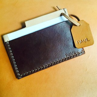 88Tailors all handmade cowhide leather color card holder money card holder Business card holder
