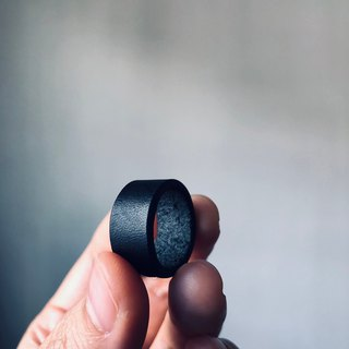 The Pirate leather ring 海盜皮革戒指