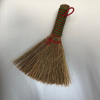 Taiwan retro small broom mans grass broom - a group of two for sale